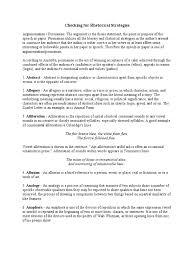 checking for rhetorical strategies rhetoric sentence linguistics