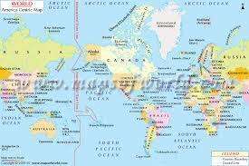 map of america america centric world map america centric map