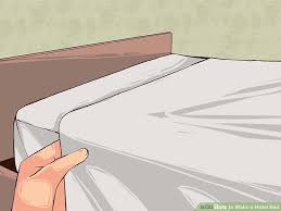 How To Make An Uncomfortable Mattress Comfortable How To Make A Hotel Bed With Pictures Wikihow