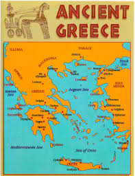 Ancient Map Map Of Ancient Greece For Kids Artcommission Me