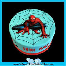 spiderman cake found on pinterest for all your cake decorating