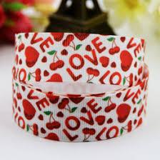 printed ribbons cherry ribbon grosgrain online cherry ribbon grosgrain for sale