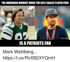 Philadelphia Eagles Memes - the awkward moment when the best eagles player ever is a patriots