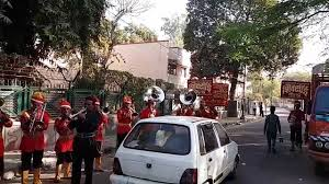traffic wedding band wedding bans shadi wibah subh apsar par shiv sai band rod