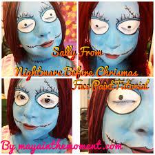 craft sally facepainting nightmare before christmas maya in