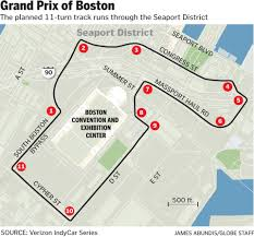 Boston Convention Center Hotels Map by Indycar Has Mixed Record In Other Cities The Boston Globe