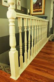 Distance Between Stair Spindles by Diy Stair Handrail With Industrial Pipes And Wood
