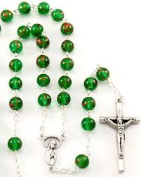 8 Best Catholic Images On - 8 best green rosary beads images on pinterest catholic gifts