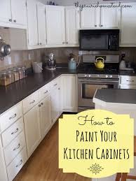 how to paint your kitchen cabinets 4532