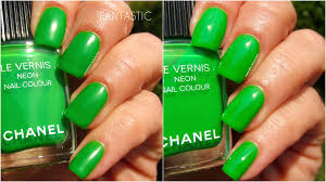 chanel neon wave collection ommorphia beauty bar