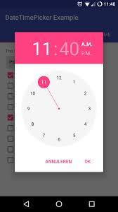 timepicker android github wdullaer materialdatetimepicker a date or time on
