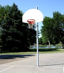 basketball hoop at the park picture free photograph photos