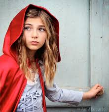 red riding hood photo session