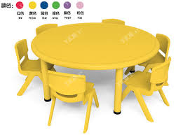 Kids Round Table And Chairs Play Furnitures Kids Round Table Used Preschool Tables And