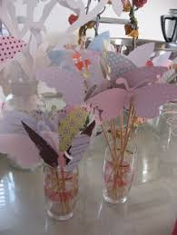 Butterfly Table Centerpieces by Lollipop Flowers Favor Centerpieces Butterfly Party Decorations