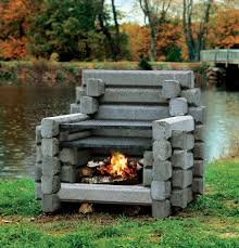 Outdoor Fire Places by Small Outdoor Fireplace Crafts Home