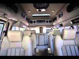 Conversion Van Interiors 2016 Gmc Savana Interior And Exterior Youtube