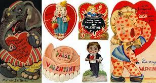 vintage valentines 14 strange and vintage valentines day cards