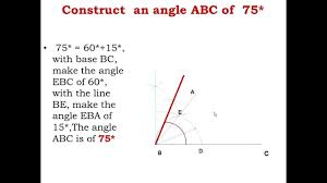 cbse class xi engineering graphics of lines u0026 angles youtube