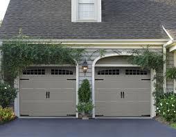 carriage house garage doors steel or wood sears