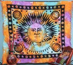 Sun And Moon Bedding Cheap Sun Moon Tapestry Find Sun Moon Tapestry Deals On Line At