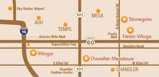 chandler fashion center map furnished apartments arizona term rentals
