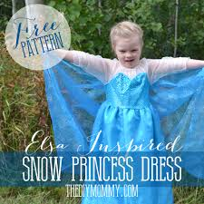 Snow Clothes For Toddlers Free Pattern And Tutorial For A Frozen Inspired Elsa Dress Costume