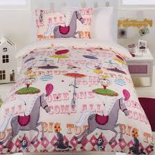 circus girls quilt cover set circus bedding kids bedding dreams