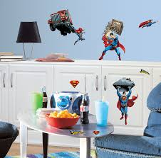 Superman Bedroom Ideas by Superman Wall Decals Groovy Kids Gear