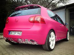 volkswagen pink yes this is a pink vw golf gti autoevolution
