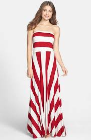 red maxi dress dressed up