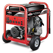 shop briggs u0026 stratton 10000 series 10 000 running watt portable