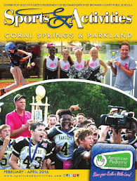 coral springs u0026 parkland sports u0026 activities directory by sports