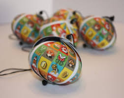 all suits of mario 3 ornament set 10 pieces