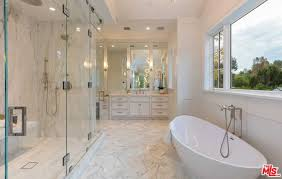 master bathroom white walk in shower marvelous white and spacious bathroom with bathtub