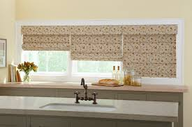 Kitchen Window Treatments Roman Shades - window treatments los angeles ca custom drapery awnings