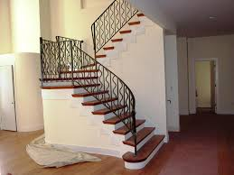 stair metal railing house exterior and interior metal stair