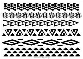 vector hawaiian tribal borders jpg 600 427 u2026 pinteres u2026