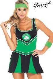 cheerleading uniforms halloween boston celtics cheerleader costume spurst com clothes