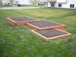 image of landscape timber retaining wall garden special dream