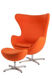 Orange Chair by Egg Chair Replica Arne Jacobsen Egg Lounge Chair In Orange