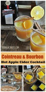 bourbon thanksgiving cocktail bourbon cider cocktail dining with alice