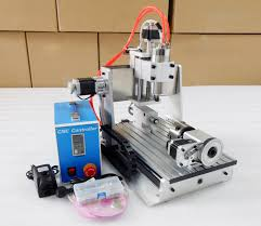 3d milling heighten version 3020 water cooling 4 axis cnc3020 desktop 3d