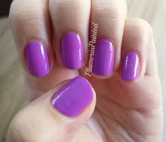 plumeriapainted purple nails orly frolic