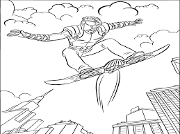 spiderman coloring pages free bebo pandco