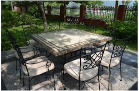 outdoor garden tables uk 140x140 mosaic garden table outdoor patio square marble stone dining