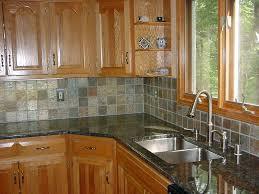 stone and glass tile backsplash kitchen home depot glass tile