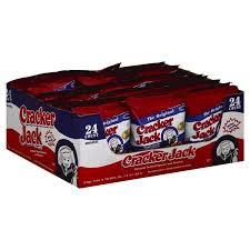 Personalized Cracker Jack Boxes Cracker Jack Caramel Coated Popcorn And Peanuts 24 1 25 Oz Bags