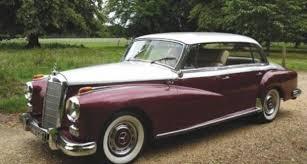 mercedes adenauer 1958 mercedes adenauer 300d driver market