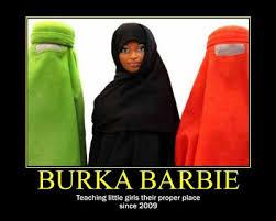 Burka Meme - notional misconduct burka barbie